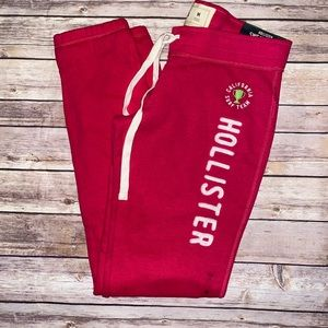 NWT Hollister Skinny Banded Sweatpants